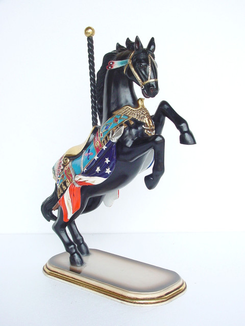 Carousel Horse Prancing Decorative Statue 32 H Home Decor