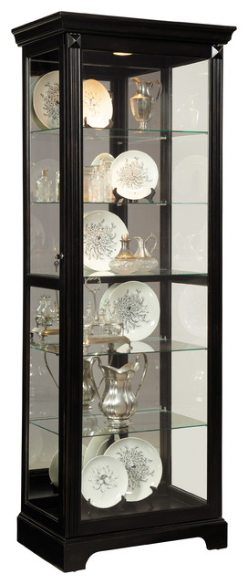 Pulaski Furniture Brookview Mirrored Back Curio.