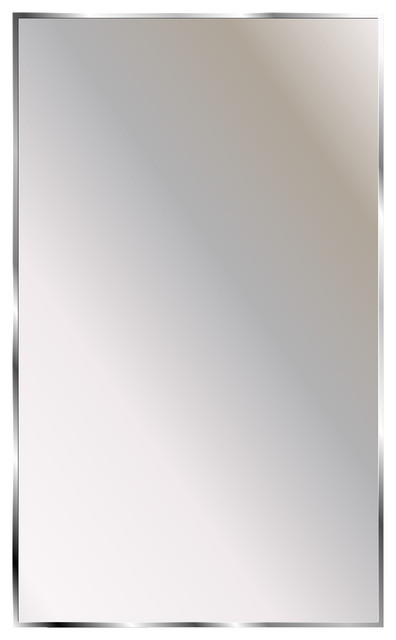 "Mirror Series Theft Proof Washroom Mirror, 16""x22"""