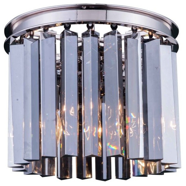Urban Classic 1208f12pn Rc Sydney 3 Light Flush Mount