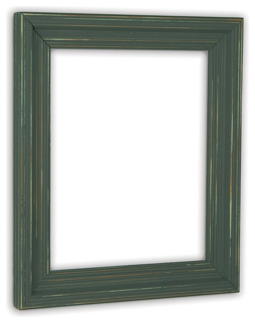 Cimarron Hunt Club Green Picture Frame, Solid Wood - Traditional ...