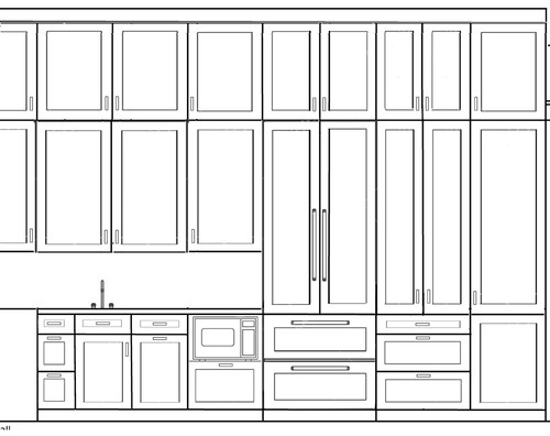 """Kitchen Cabinets To Ceiling Height are ceiling height cabinets in the kitchen too much with 11"""" ceiling?"""