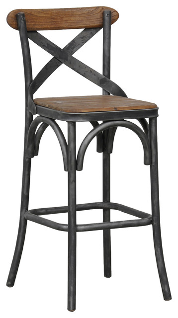 """Bentley Counter Stool by Kosas Home, 24"""""""