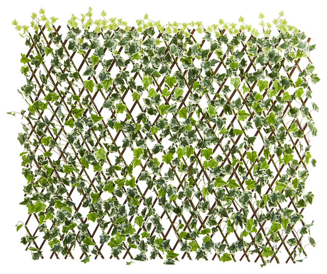"""Nearly Natural 39"""" English Ivy Expandable Fence UV Resistant & Waterproof"""