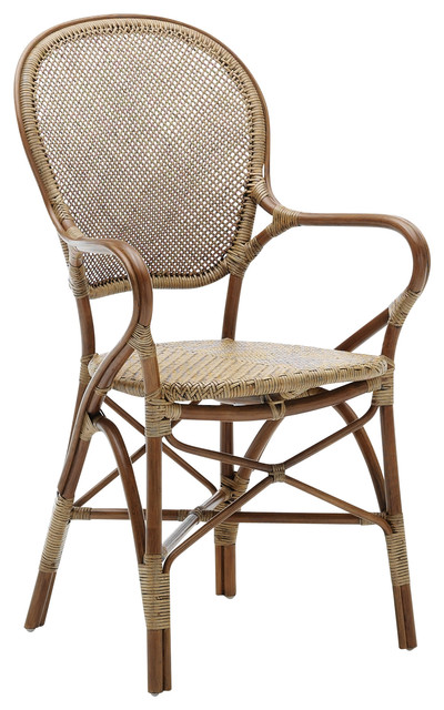 Rossini Indoor Bistro Arm Chair Tropical Armchairs And