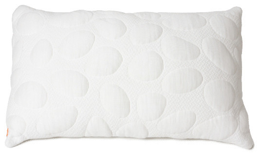 Modern Family Pillows On Bed : Pebble Pillow - Modern - Bed Pillows - by Nook Sleep Systems