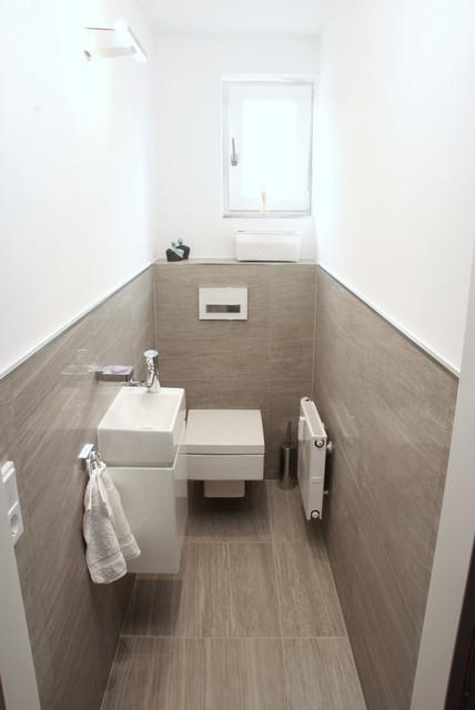 Gästewc gäste wc umbau contemporary cloakroom munich by zotz werkstätten