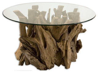 Spectacular Driftwood Cocktail Table