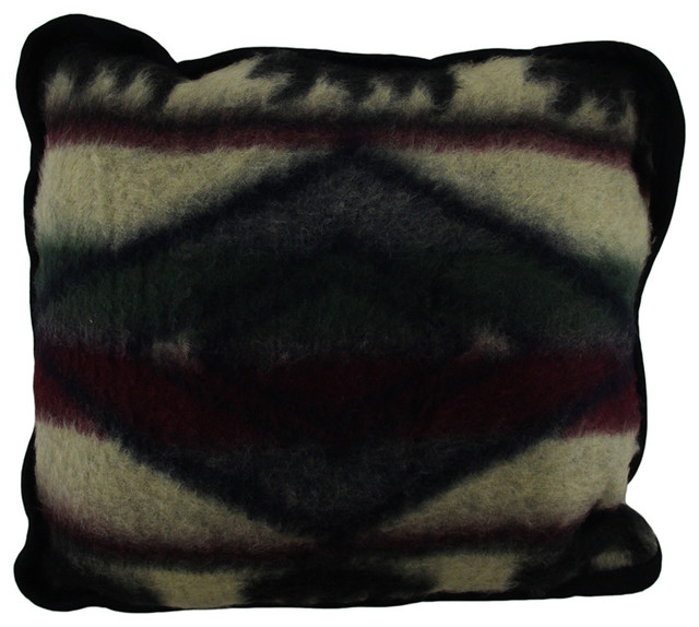 Decorative Plush Pillows : Yuma Bear Wildlife Plush Fleece Throw Pillow 16
