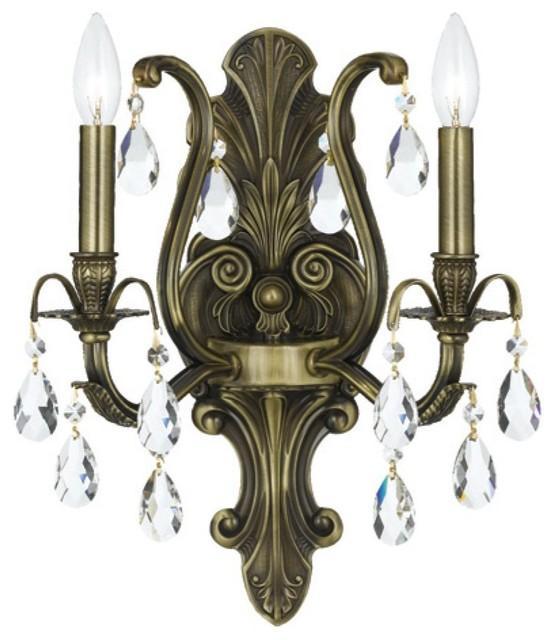Victorian Bathroom Vanity Lighting crystorama 5563-ab-cl-mwp dawson bathroom light - victorian