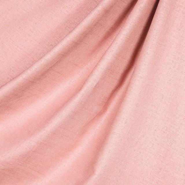 Linen Fabric, Light Pink