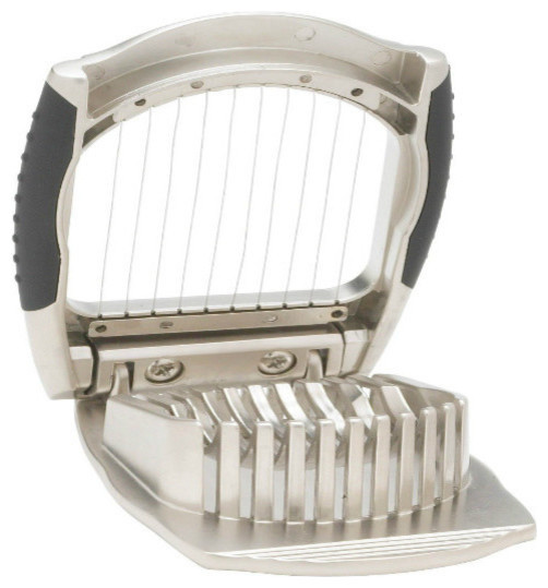 Hic Deluxe Boiled Egg Slicer, Stainless Steel.