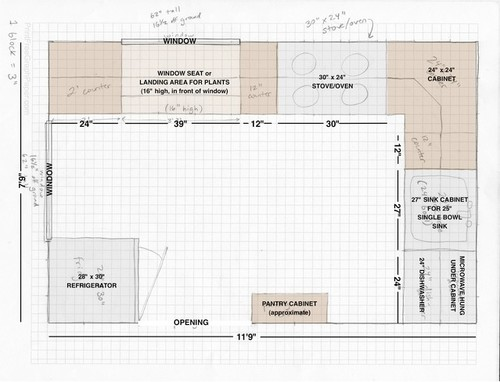 Looking for comments on small kitchen layout for 15 x 9 kitchen layouts