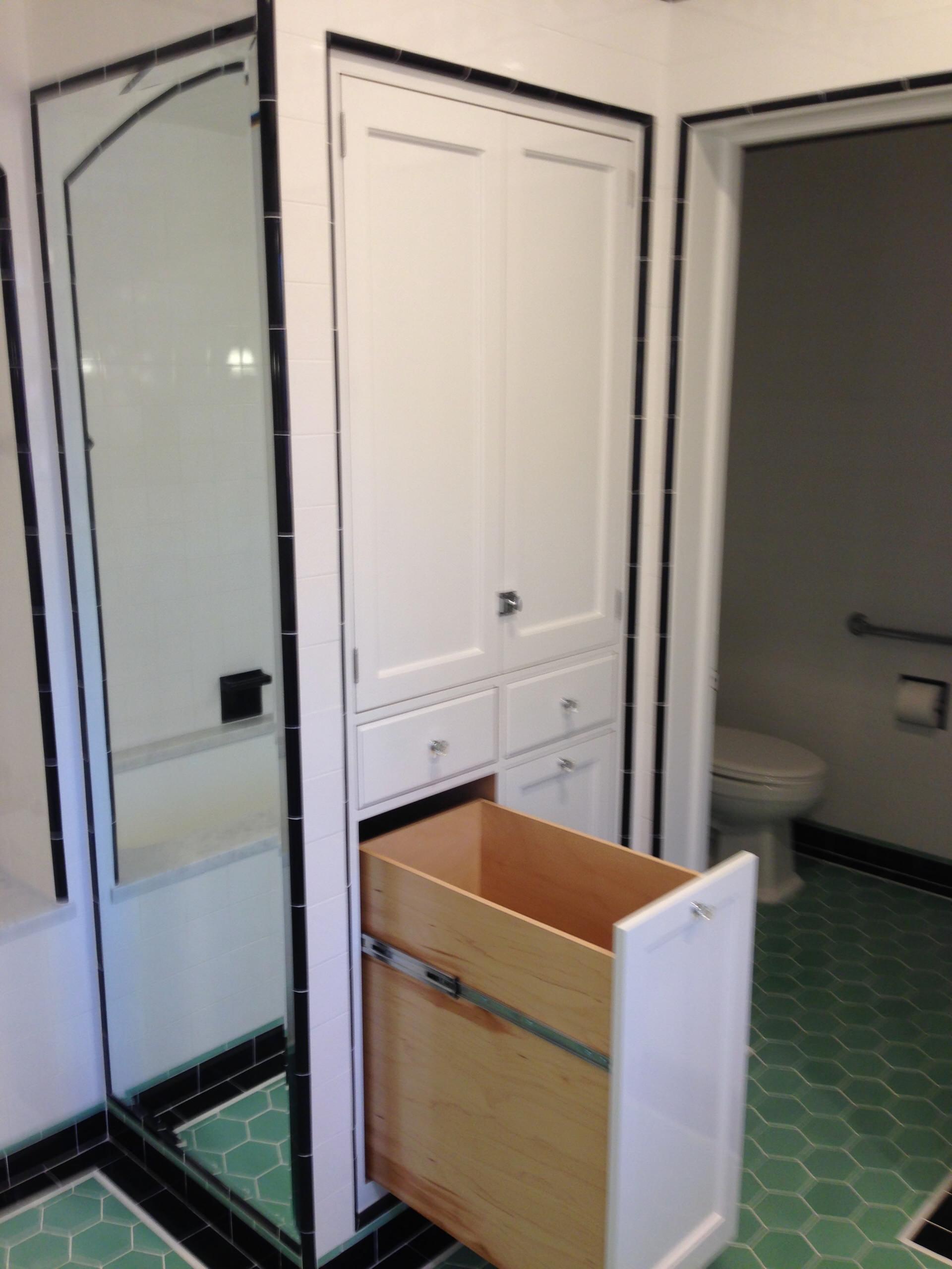 Beverly Hills Historic Home Renovation - Master Bathroom