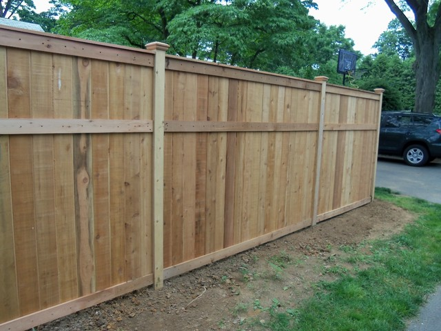 Red Cedar Fence Traditional Other By Lowes Of East