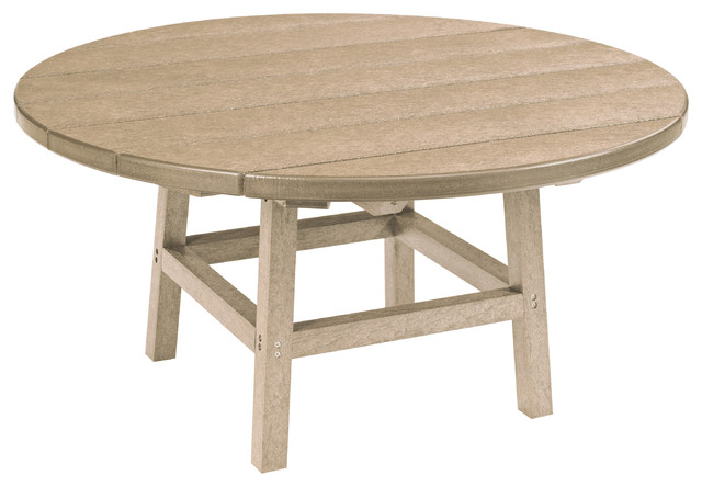 Generations 37 round cocktail table with legs for Traditional dining table bases