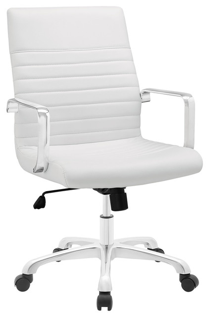 Modern Contemporary Office Chair White