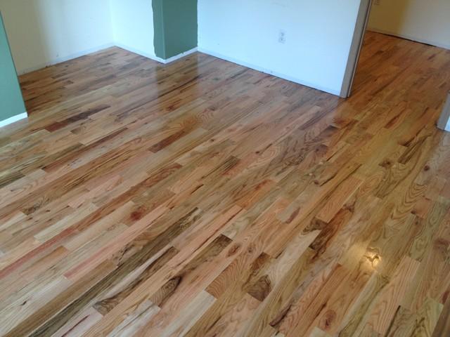 Red oak 2 grade traditional seattle by ptl hardwood for Hardwood floor dealers
