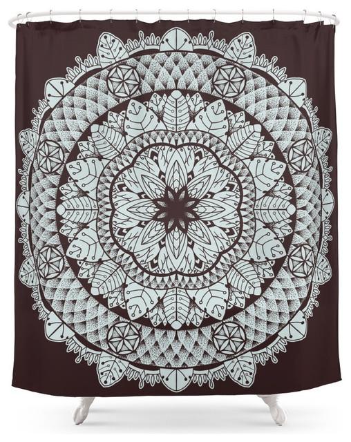 Society6 Mandala 5 Shower Curtain
