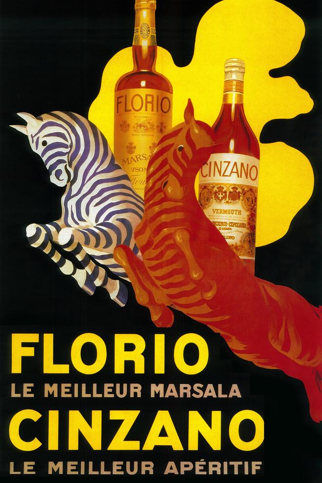 Cinzano Vintage Poster 5 Sizes /& Framing Alcohol Advertising Print