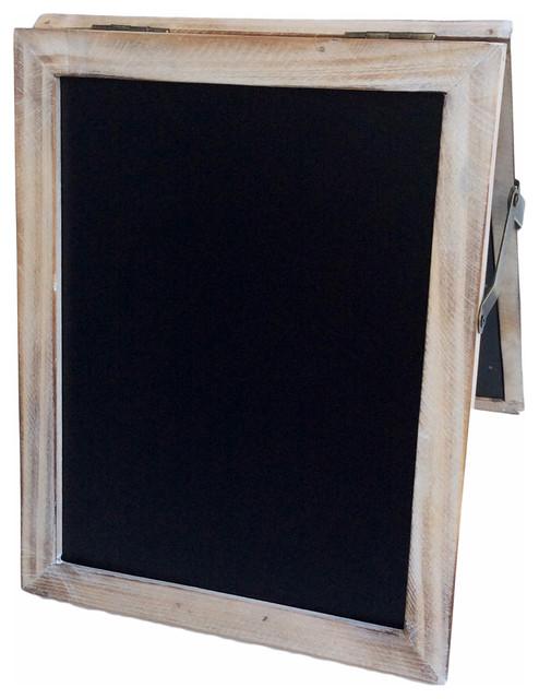 Petite Double Sided Chalkboard Farmhouse Bulletin Boards And Chalkboards