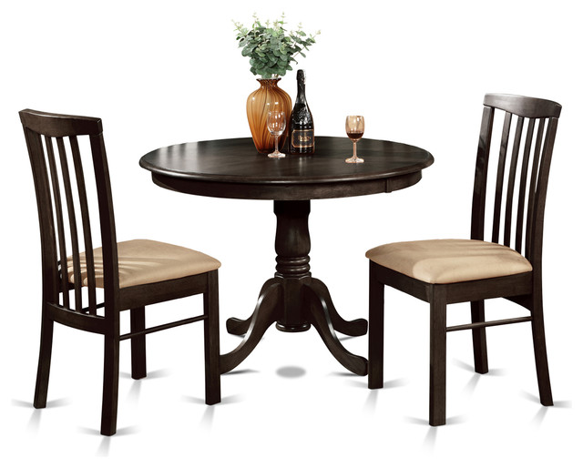 East West Furniture Hart Cap Kitchen Table Set Dining