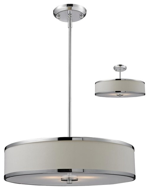 drum shade pendant lighting. three light chrome white shade drum pendant transitionalpendant lighting u