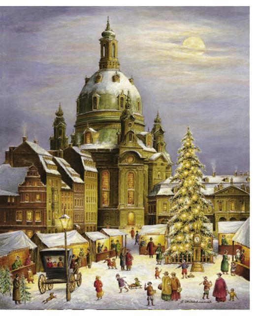 Alexander Taron Bruck And Sohn Advent Scene From City