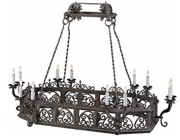 Acuna Wrought Iron Chandelier