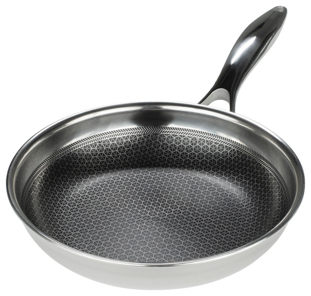 Frieling Black Cube Hybrid Stainless Steel/Nonstick 8 Inch Fry Pan