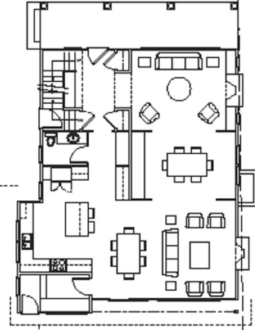 Would love help with floor plan mud room vs bigger kitchen for Floor plan assistance