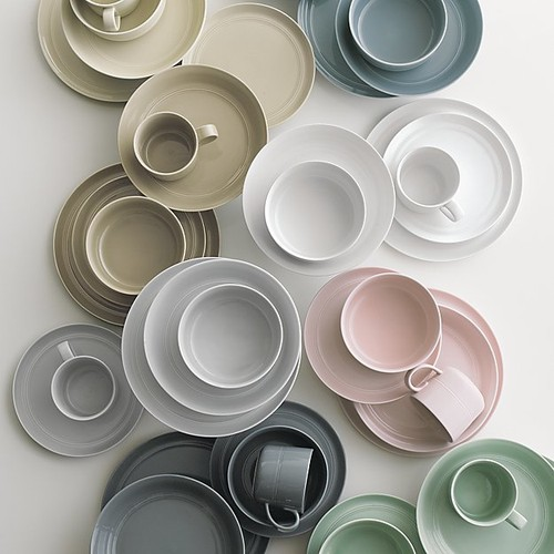 & mix and match solid dinnerware