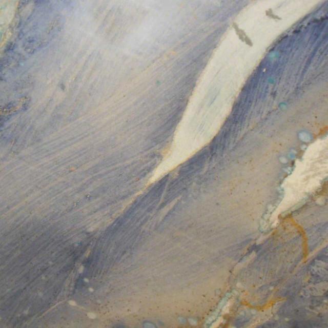 Various Sized Azul Macaubas Countertop Quartzite Slab, 3 Cm..