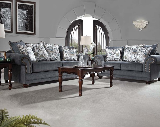 American Freight Furniture And Mattress Furniture U0026 Accessories. Stanza  Delft Sofa U0026 Loveseat Transitional Living Room