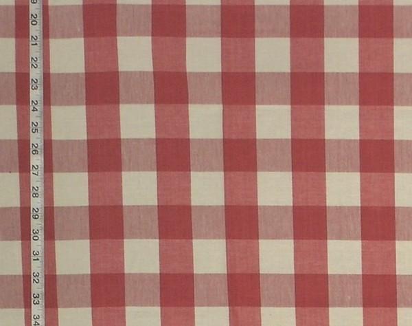 Buffalo Check Fabric Pink Rose Plaid Red Rt Lym Dl72 Strawberry Standard Cut