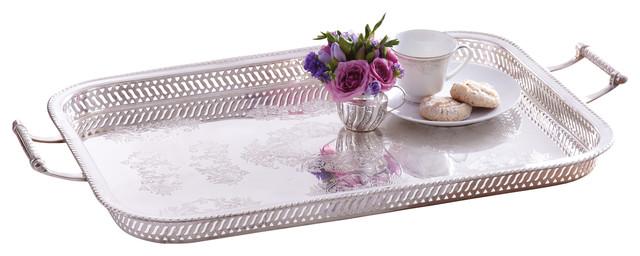 rothschild decorative gallery tray victorian serving trays - Decorative Serving Trays