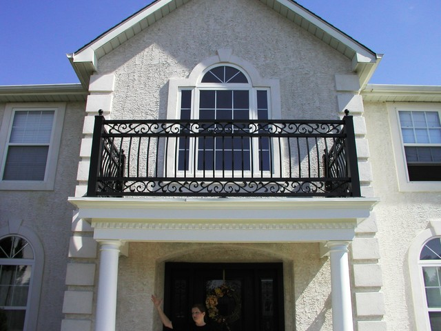 Lovely Portico Railing, Interior Railing And Front Doors   Columbus, NJ