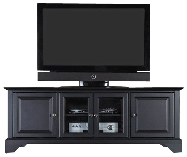 "Crosley Furniture - LaFayette 60"" Low Profile TV Stand - View in Your Room! 