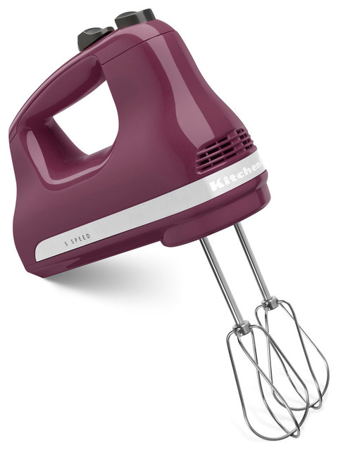 Ultra Power 5-Speed Hand Mixer, Boysenberry