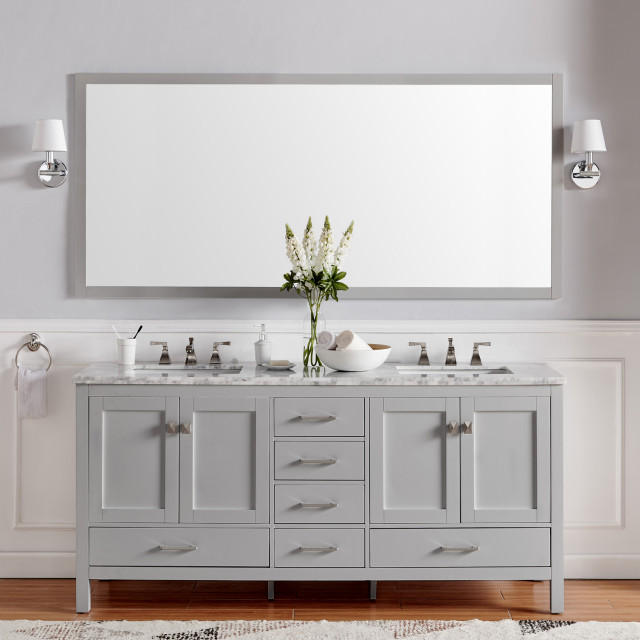 Aberdeen Bathroom Vanity With Carrera