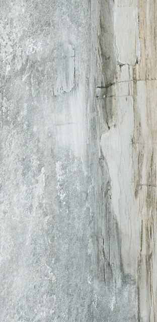 "12""x24"" Waterfall Series Porcelain Floor And Wall, Yosemite Gray, Set Of 7."