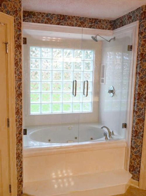 Captivating 80 Bathroom Window Glass Block Design Inspiration Of Seattle Glass Block Glass