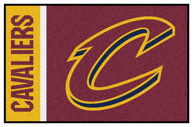 "NBA Cleveland Cavaliers Uniform Inspired Starter Rug 19""x30"""