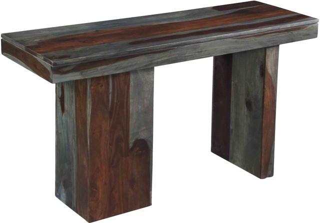 Grayson Console Table, Sheesham Highlight Wash