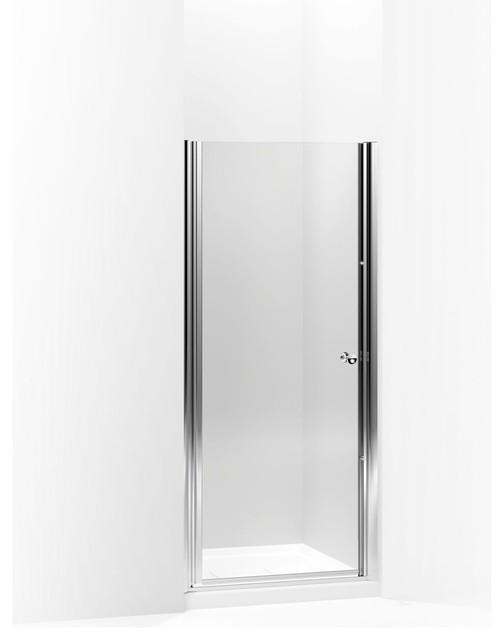 Kohler Fluence Pivot Shower Door 65 5 X30 25 Bright Silver