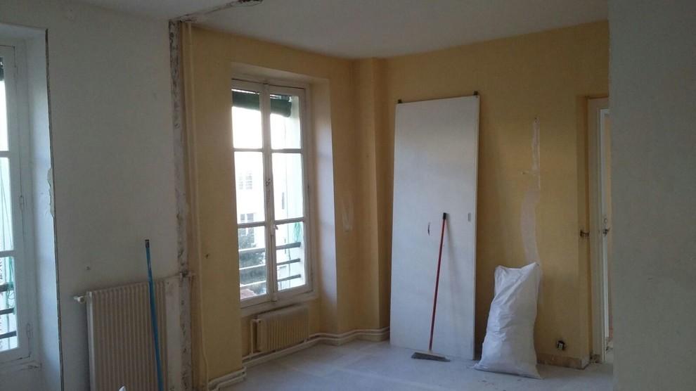 Avant/ après transformation d'un appartement pour la venu du bb