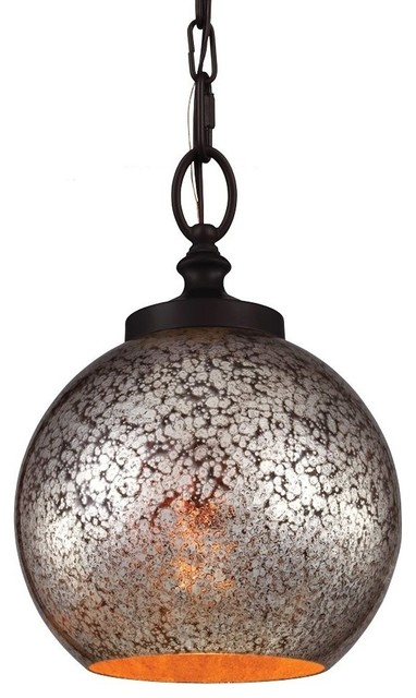 51598a5a35d Feiss P1318ORB Tabby 1-Light Oil Rubbed Bronze Mini Pendant ...