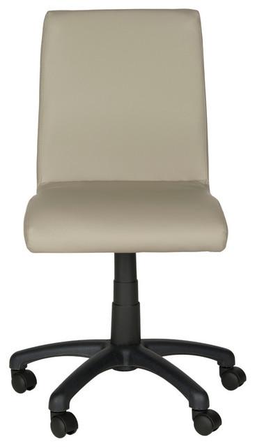 Safavieh Hal Desk Chair, Gray.