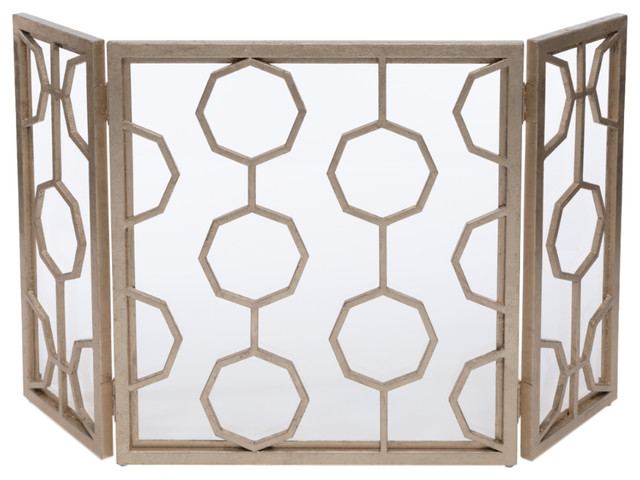 Doheny Fire Screen, Champagne