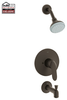Grohe 35 049 Agira Tub and Shower Trim Package with Multi-Function Shower Head